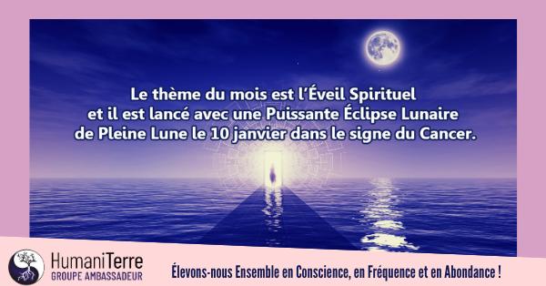 Une Puissante Éclipse Lunaire de Pleine Lune le 10 janvier!
