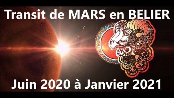 Depuis le 27 juin et ce pour 6 mois - Mars en Bélier nous aide à aller vers ce que nous désirons !