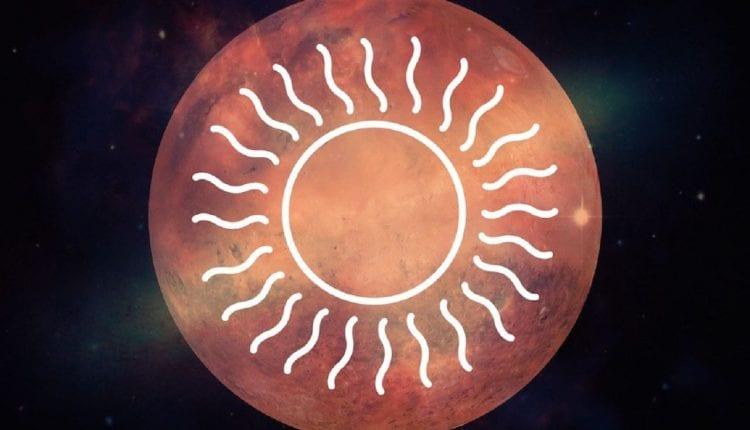 Mars et le Soleil s'alignent en Septembre 2019