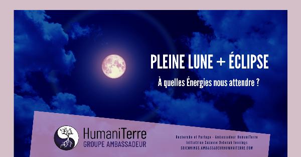 Éclipse Lunaire de  Pleine Lune -  10 Janvier 2020