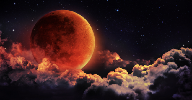 Eclipse Lunaire et Pleine Lune du 5 juin 2020