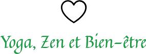 Logo Yoga, Zen et Bien-être