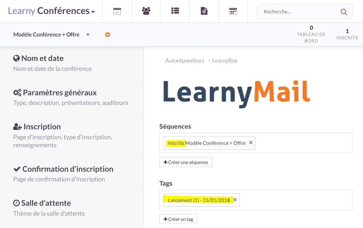 Conférence : Autorépondeur LearnyMail