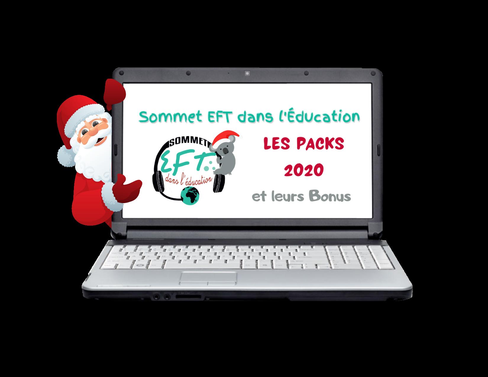SOMMET Virtuel EFT dans l'Éducation 2020 - 2 Packs | St Nicolas