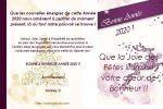 BONNE & HEUREUSE ANNÉE 2020 !!