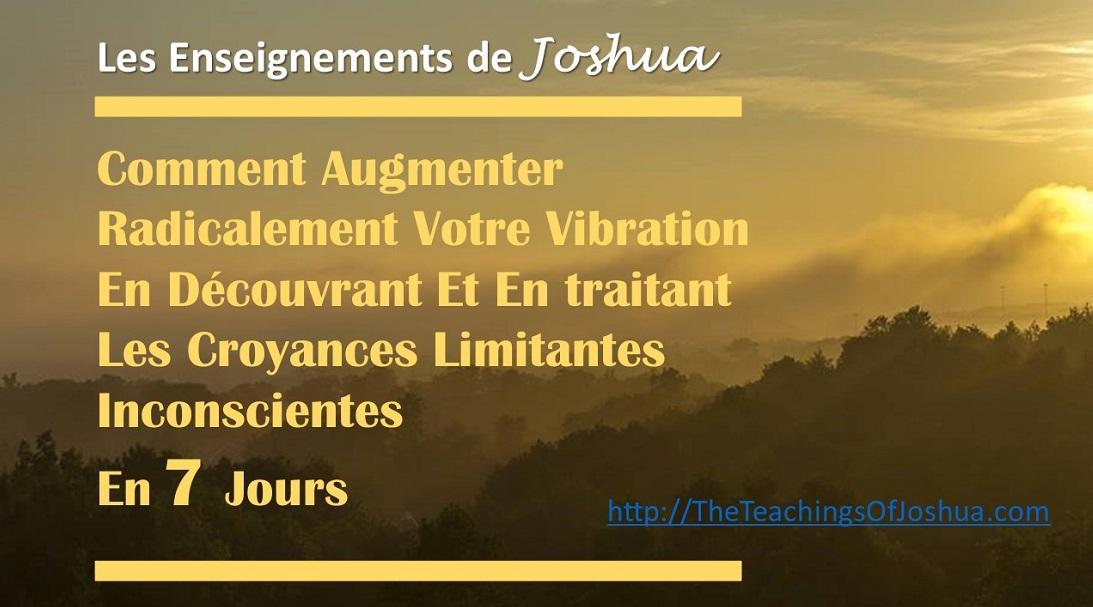 [Cadeau] Comment Augmenter Votre Vibration ... En Découvrant Vos Croyances Limitantes ...