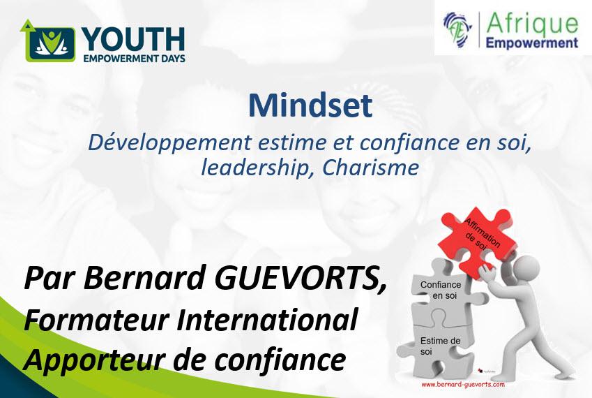 Conférence : Mindset, développement de l'estime et de la confiance en soi, leadership, charisme