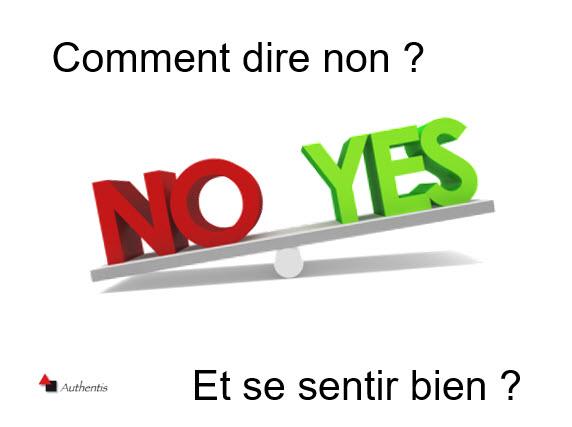 Comment dire non et se sentir bien