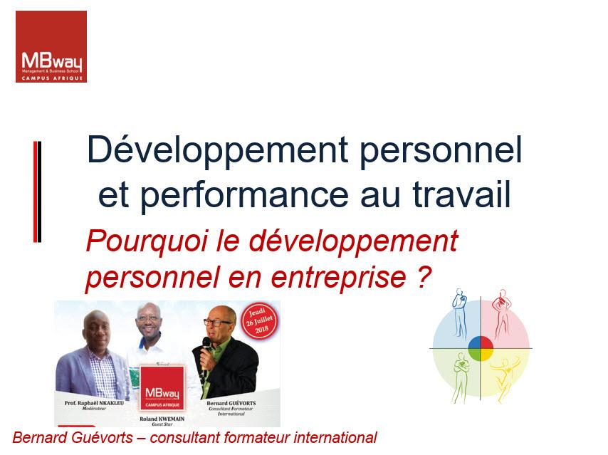 Comment le développement personnel impacte la performance en entreprise