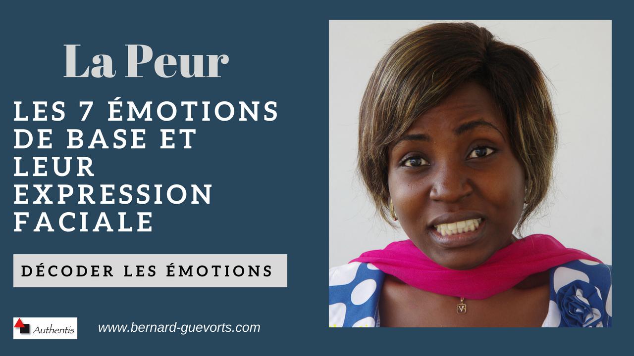 Les émotions en détail : la peur