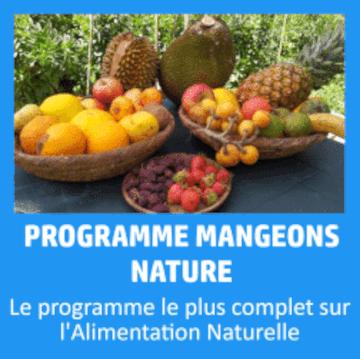 Le programme complet pour atteindre, pratiquer et tout savoir sur l'alimentation naturelle et sensorielle