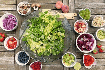 Composition crudivore, alimentation vivante