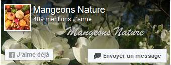 Page facebook Mangeons Nature