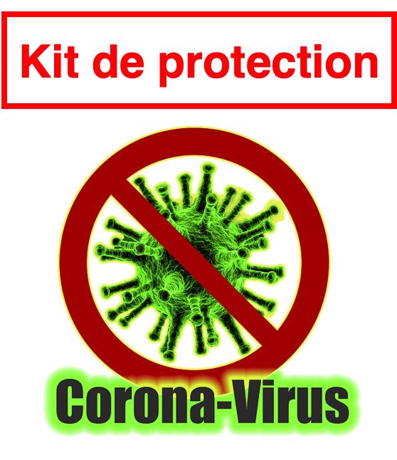 Coronavirus - COVID-19 - LE KIT DE PROTECTION pour rester en forme