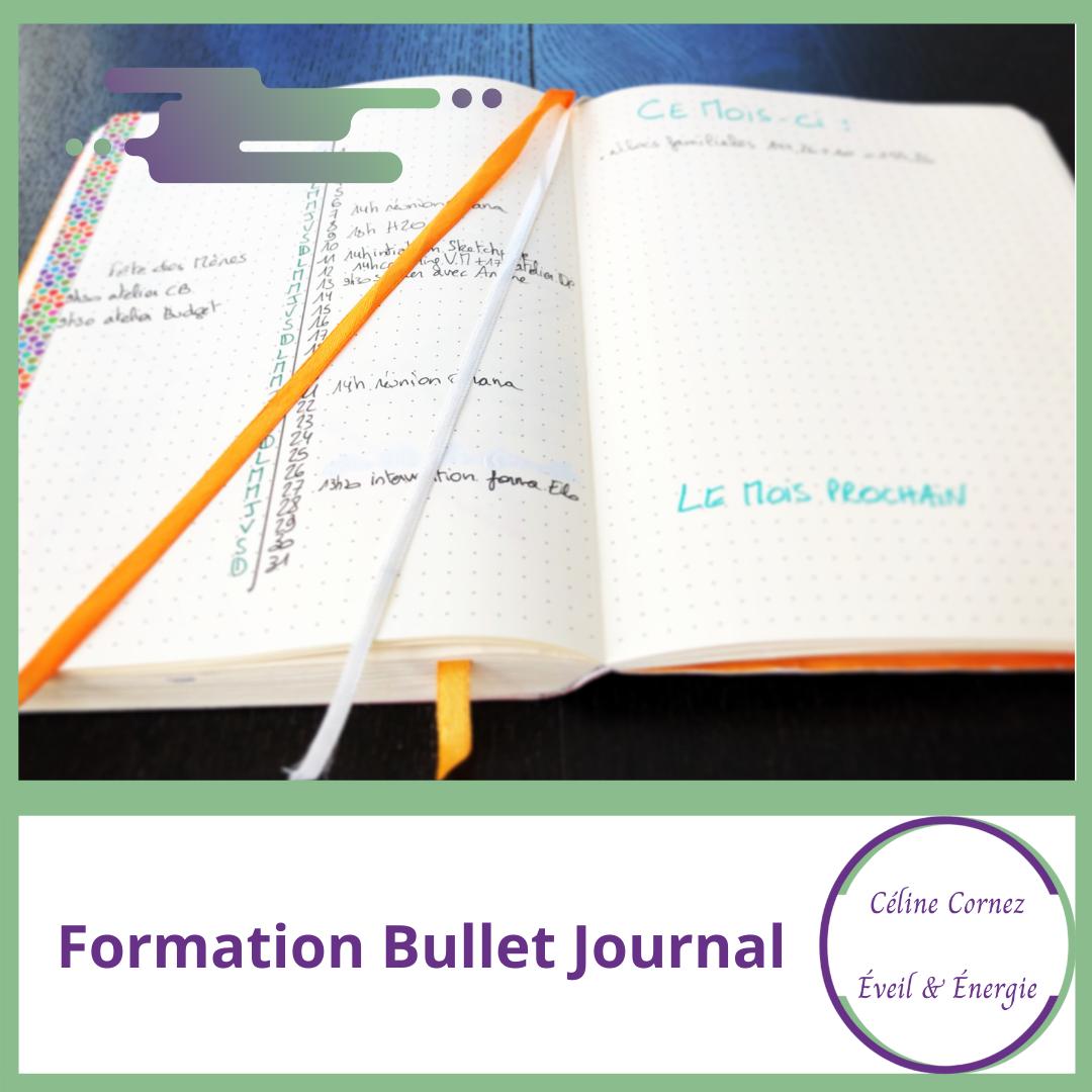 formation bullet journal