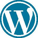 Le logo de wordpress et de woocommerce pour créer une boutique de dropshipping.