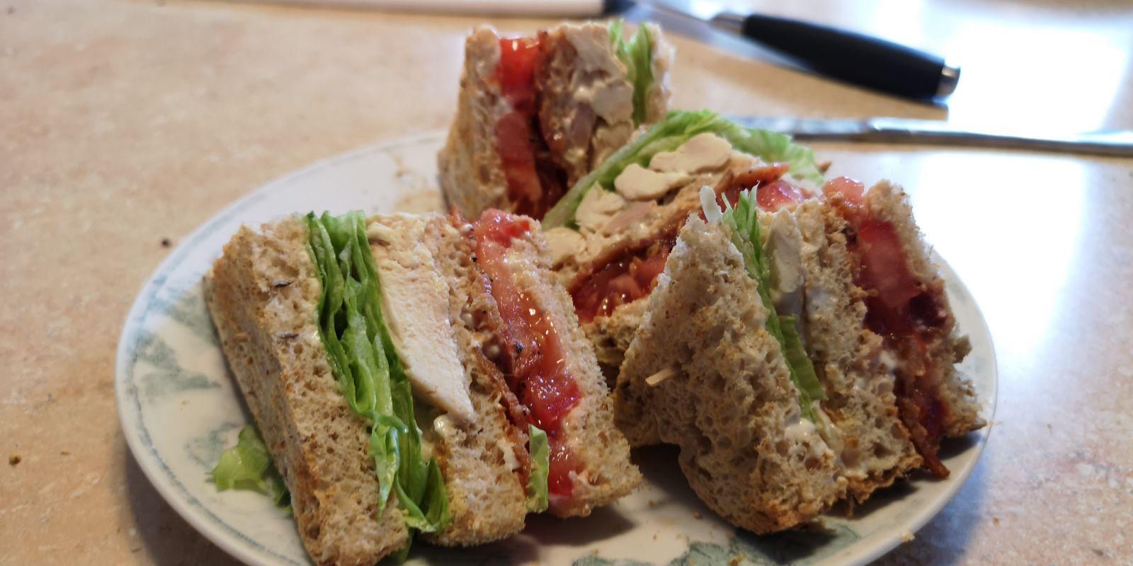 Club Sandwich santé pour moins de 2,50 par personne