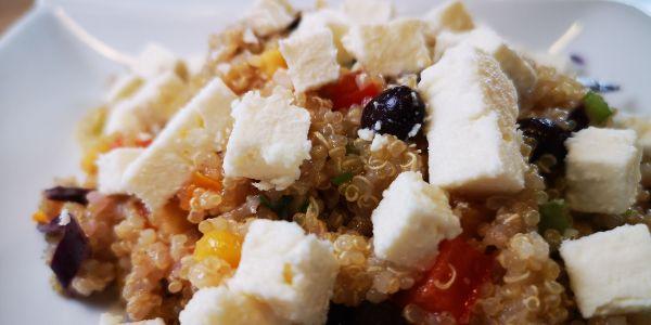 Papa Popote - Recette de Quinoa aux légumes