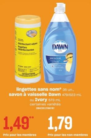 Lingettes Sans Nom du 11 au 17 juillet 2019