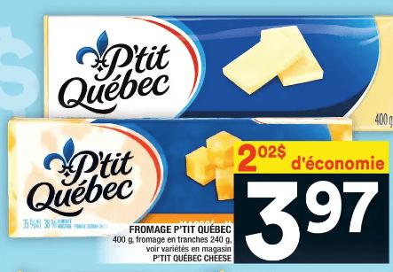 Fromage P'tit Québec du 11 au 17 juin 2020