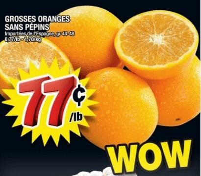 Grosses Oranges Sans Pépins du 13 au 19 juin 2019
