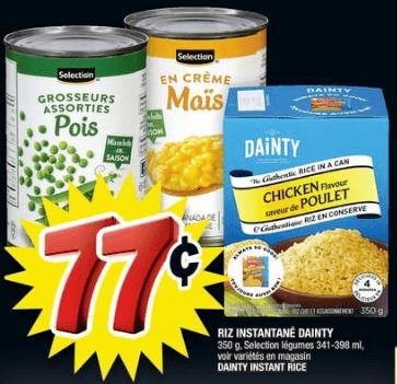 Riz Instantané Dainty 350g du 13 au 19 juin 2019