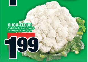 Chou-Fleur du 19 au 25 décembre 2019