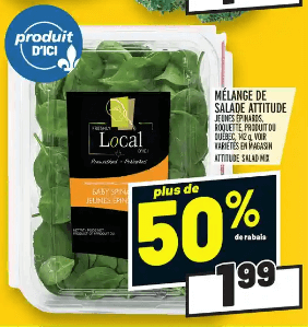 Mélange de Salade Attitude du 2 au 8 juillet 2020