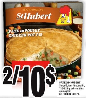 Pâté St-Hubert 715-825gdu 2 au 8 mai 2019