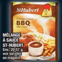 Mélange à Sauce St-Hubert du 28 au 4 décembre 2019