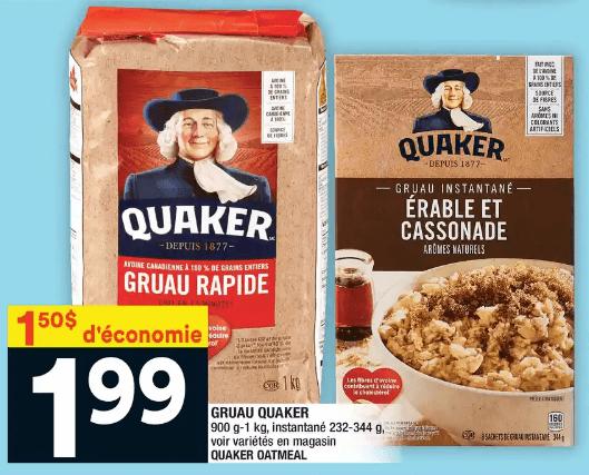 Gruau Quaker du 9 au 15 janvier 2020