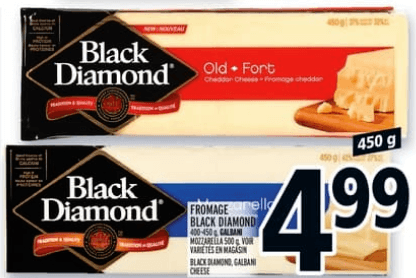 Fromage Black Diamond Galbani 450g du 9 au 15 mai 2019