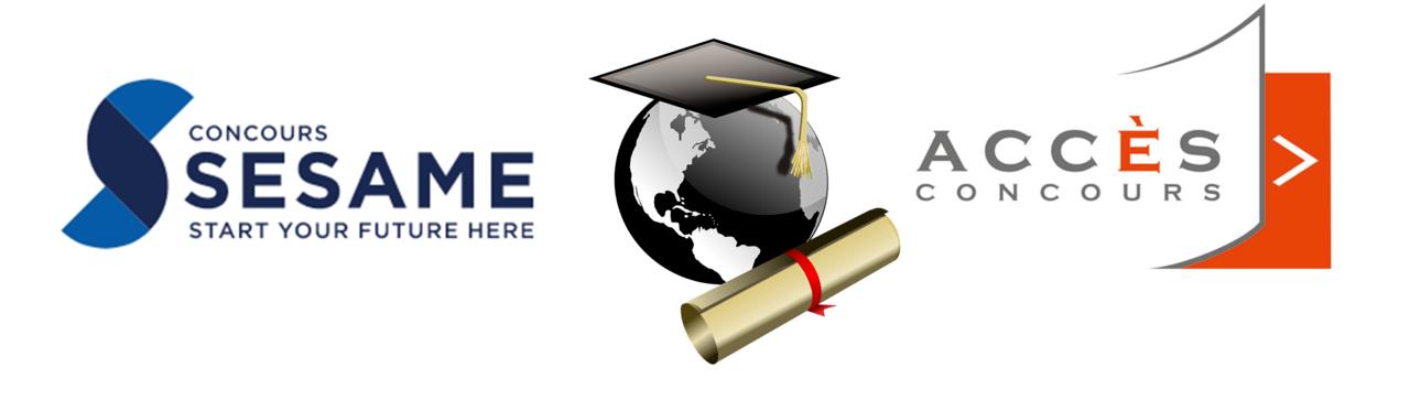 Les concours Sésame et Accès aux écoles de commerce post-bac
