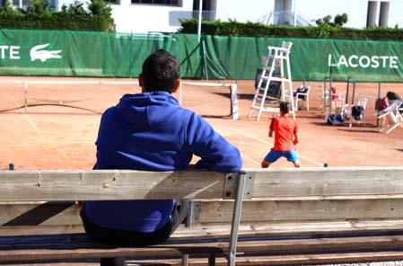 Coaching compétition - tournois tennis français et internationaux