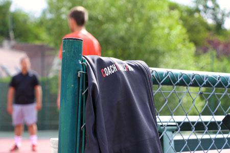 Sofiane Mdarhri stages tennis