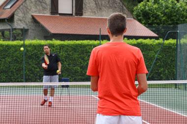 Stages d'entraînement tennis