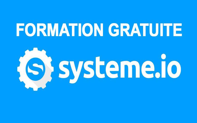 Formation gratuite Systeme.io