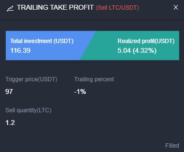 Comment gagner de l'argent avec le Trailing Take Profit ?