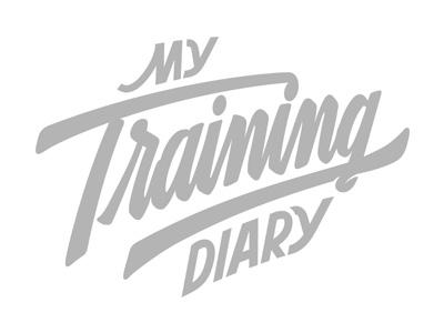 My Training Diary