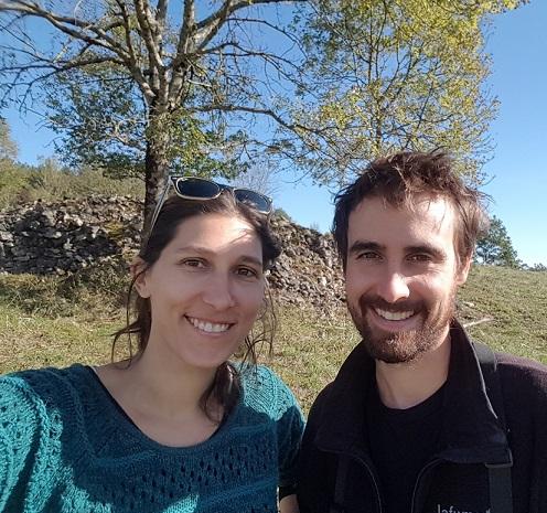 Nathalie et David, co-fondateurs de Bestioles et compagnie