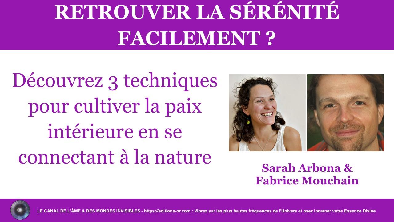 Sarah Arbona & Fabrice Mouchain