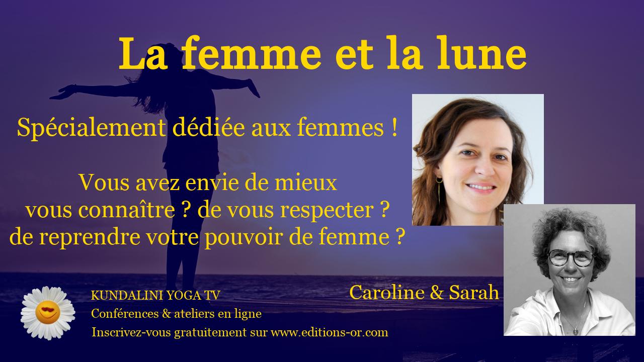 Caroline Atlas et Sarah Chauliaguet