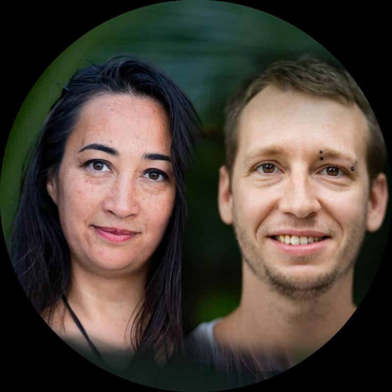 Narissa Claude & Cédric Dupuy