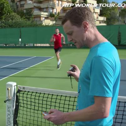 Sébastien Durand, préparateur physique spécialisé dans le tennis