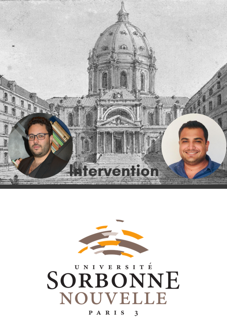 Intervention Sorbonne Nouvelle