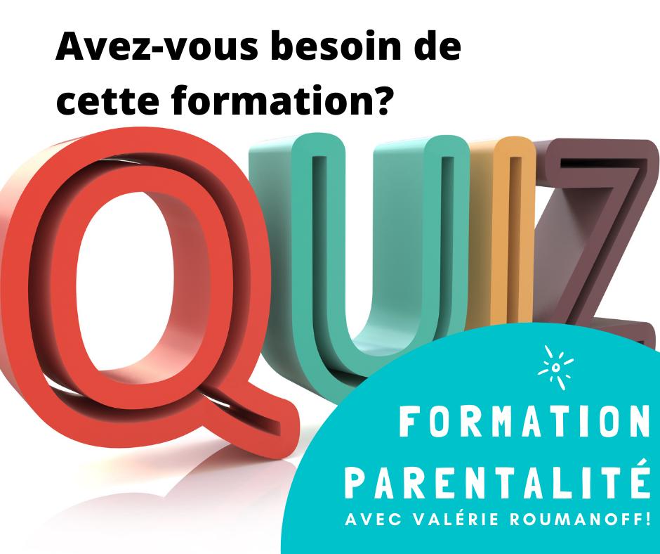 quizz parentalite