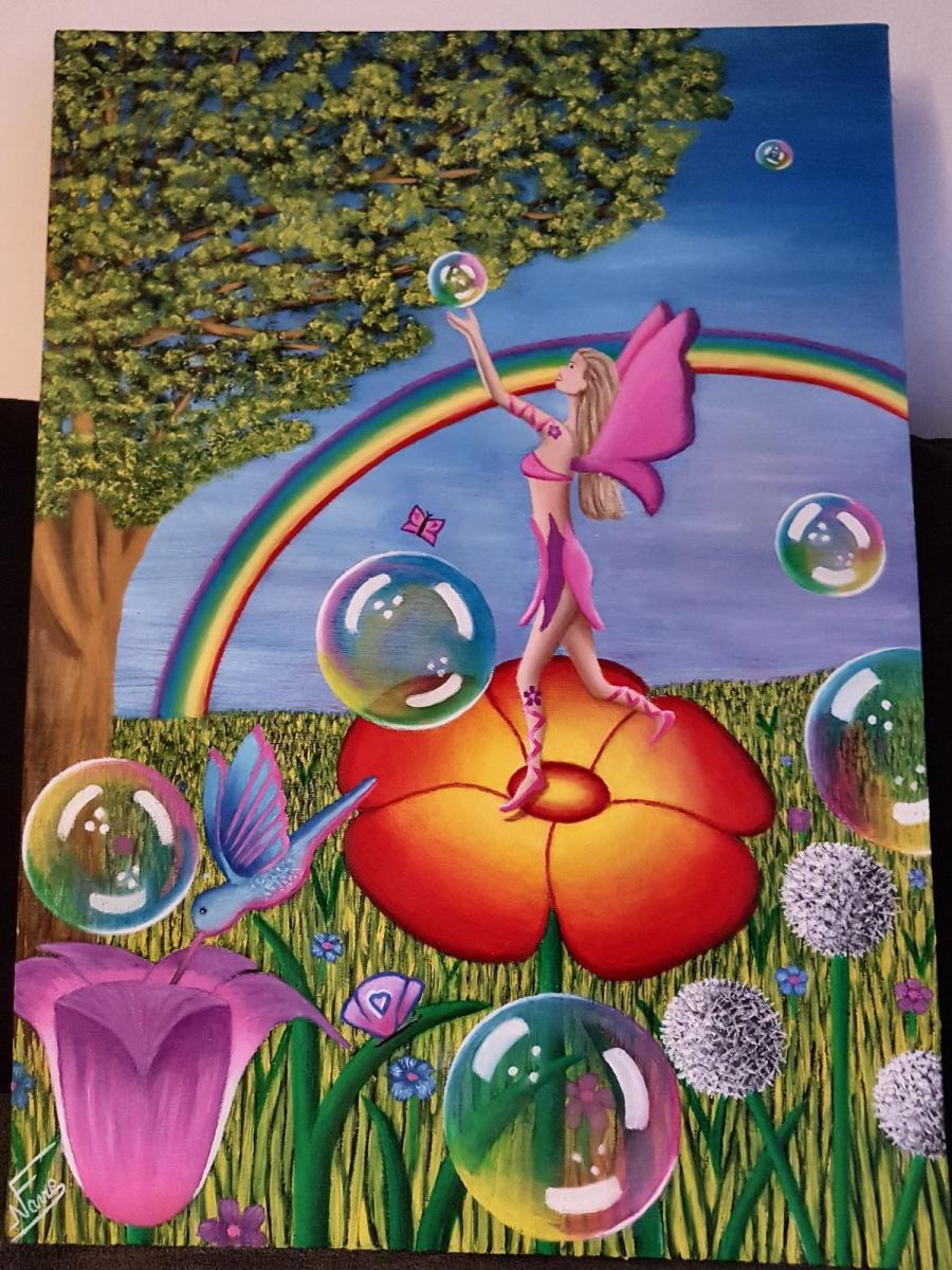 Un art connecté et inspiré : la peinture féérique pour s'ouvrir à la spiritualité