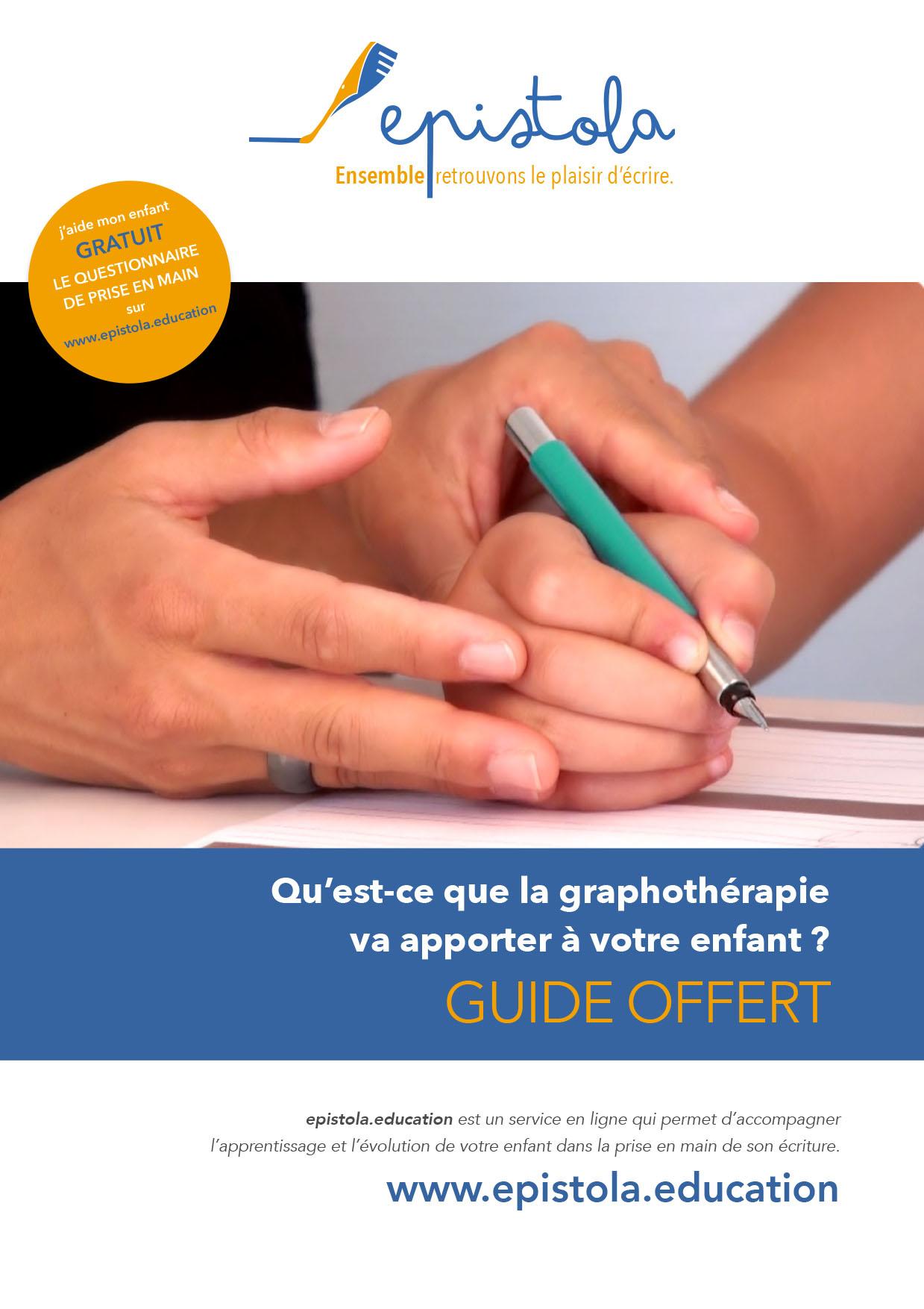 Qu'est-ce que la graphothérapie va apporter à votre enfant ? Guide gratuit
