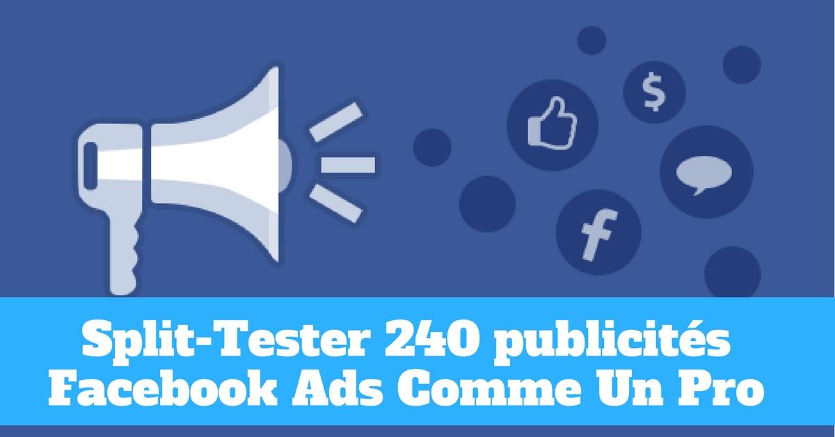 Tutoriel Adespresso: Comment produire et split-tester 240 publicités en 10 clics