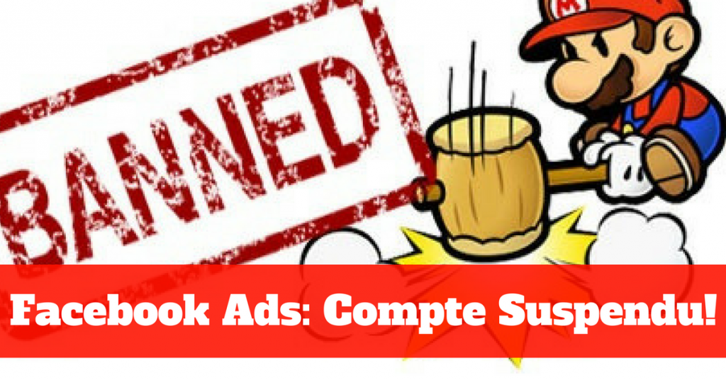 Votre compte Facebook suspendu? Voici quoi faire maintenant